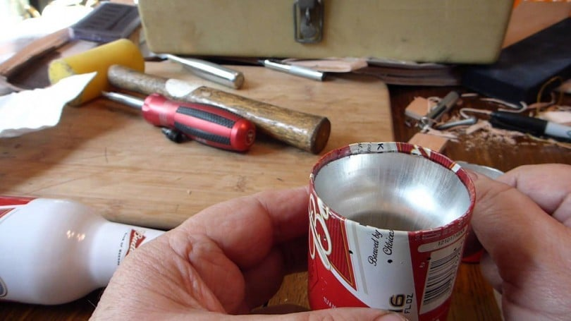 Homemade camp stove