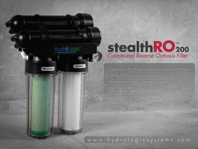 Hydro Logic 31040 200-GPD Stealth RO200 Reverse Osmosis Filter