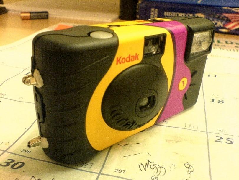 Kodak camera taser