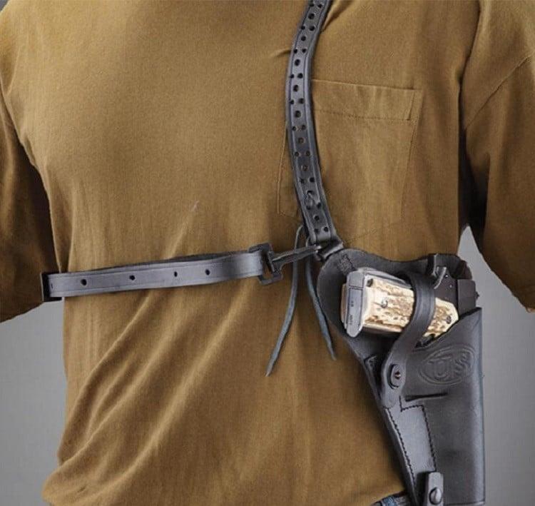 Leather US M7 Paratrooper Shoulder Holster