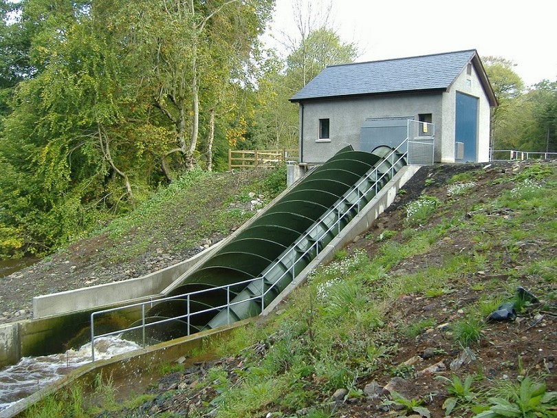 Micro hydropower systems outside