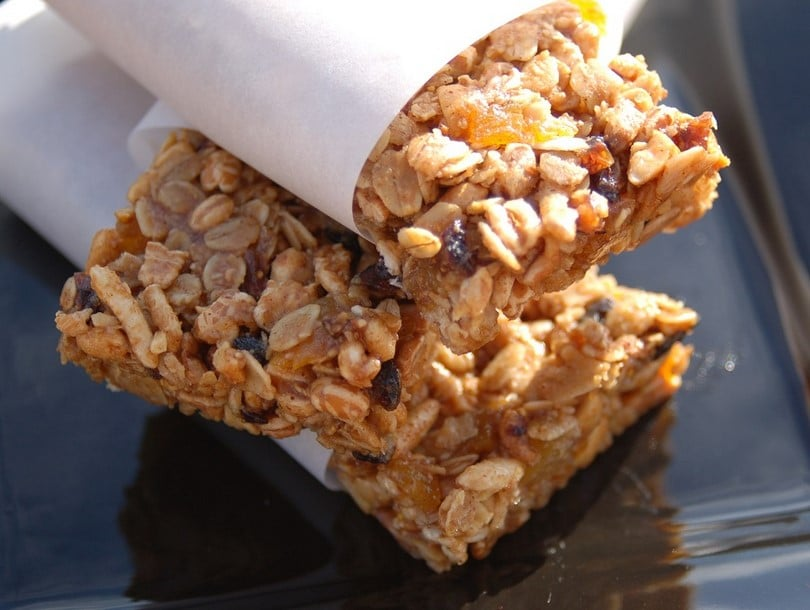 Peanut butter energy bars