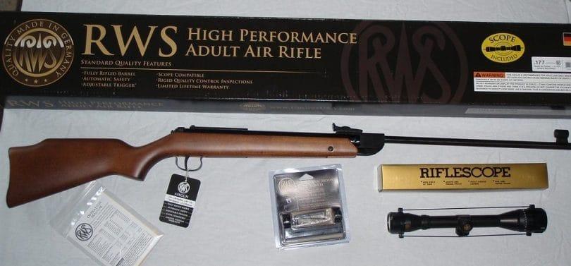 RWS Pellet Model combo rifle