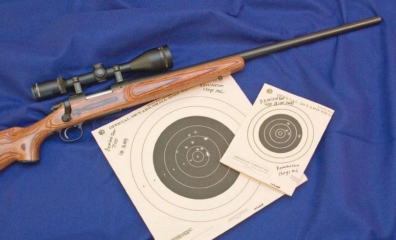 Remington 700 targets
