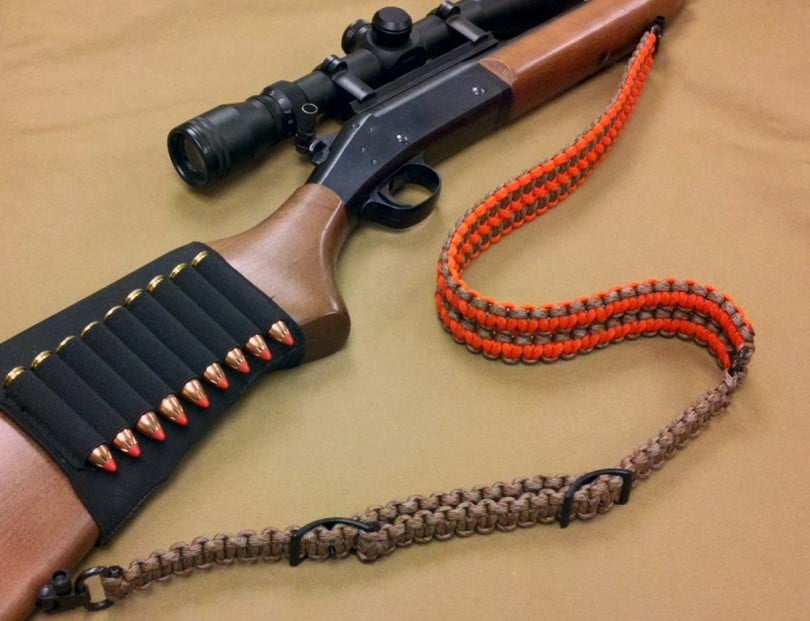 paracord rifle sling diy project with step by step