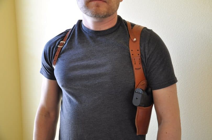 Best shoulder holster looking for comfort style and practicality