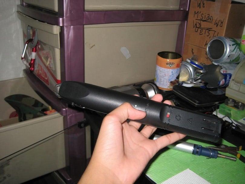Stun gun rechargeable