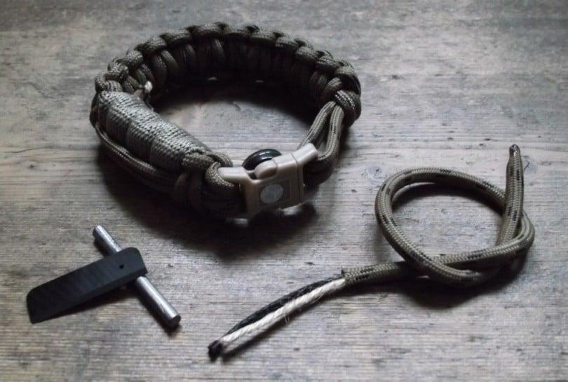 Survival strap making