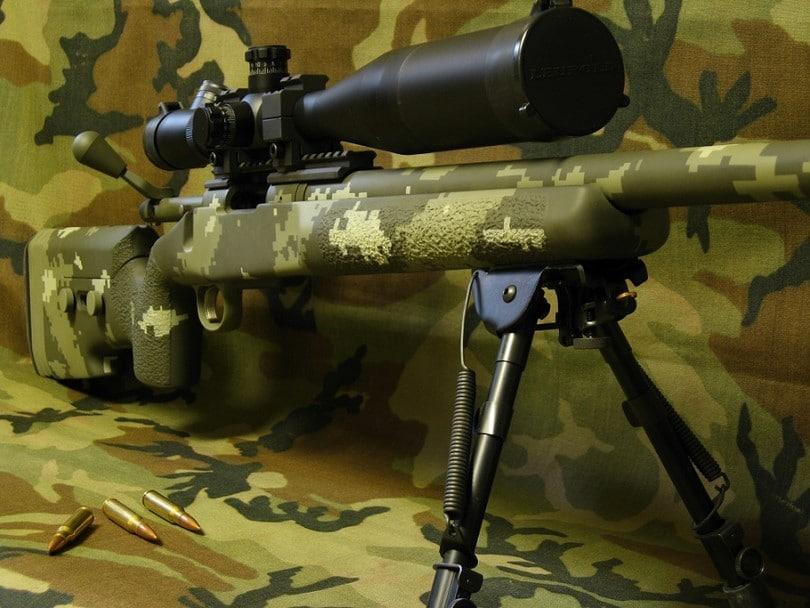 Tactical Remington rifle