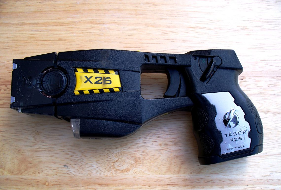 Stun Gun Vs Taser Facts Options In Self Defense Weaponry Fotos This Is A Diy Simple Circuit Schematic