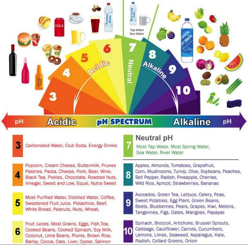 acid-alkaline scale