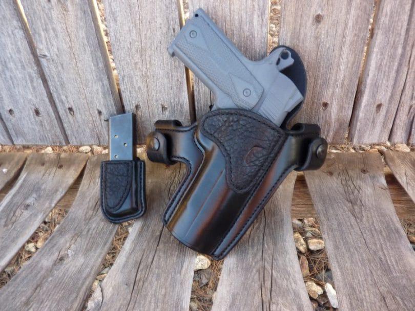 0070 - Hammerless J-Frame OWB Crossdraw holster
