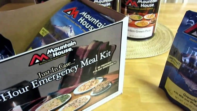 72-hour Mountain House kit