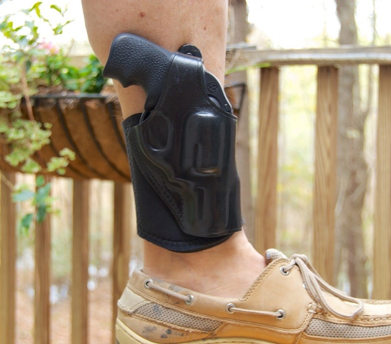 Ankle holster safety