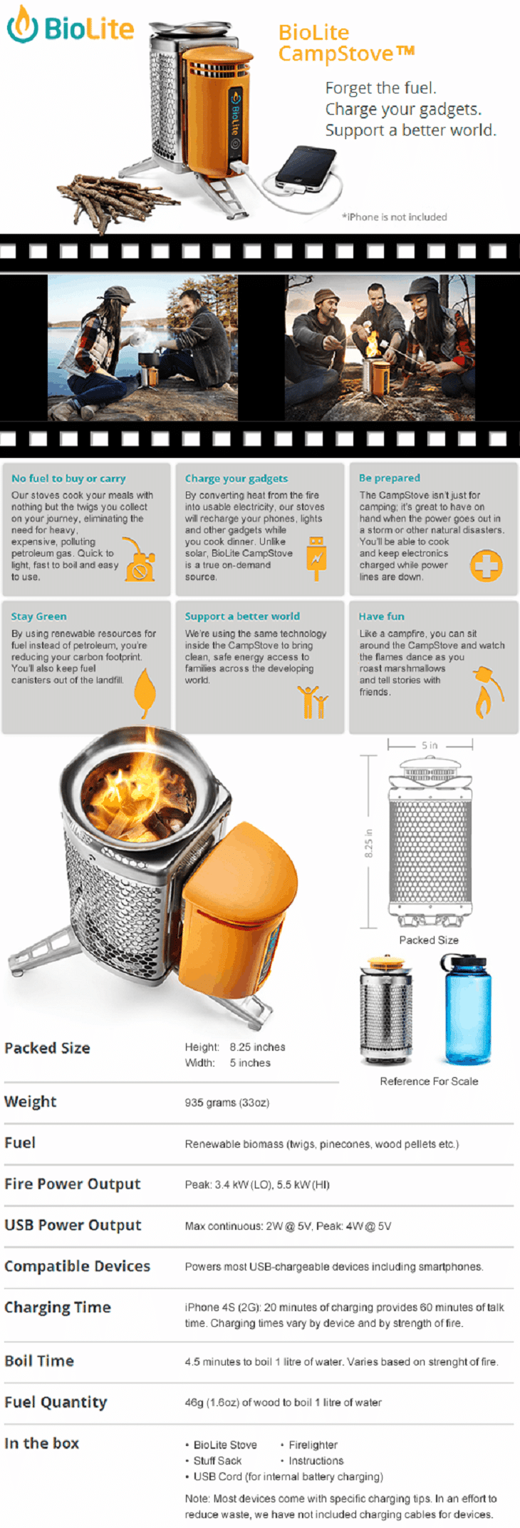 Biolite Camp Stove Review: Best Camping Stove to Harness Off-Grid ...