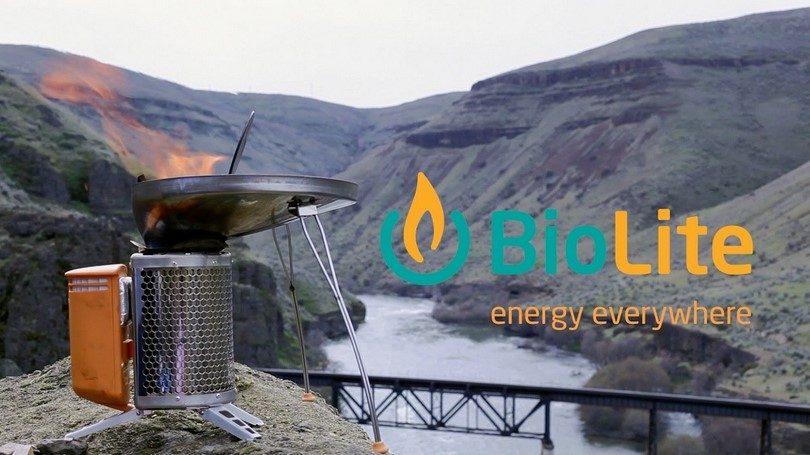 BioLite stove energy