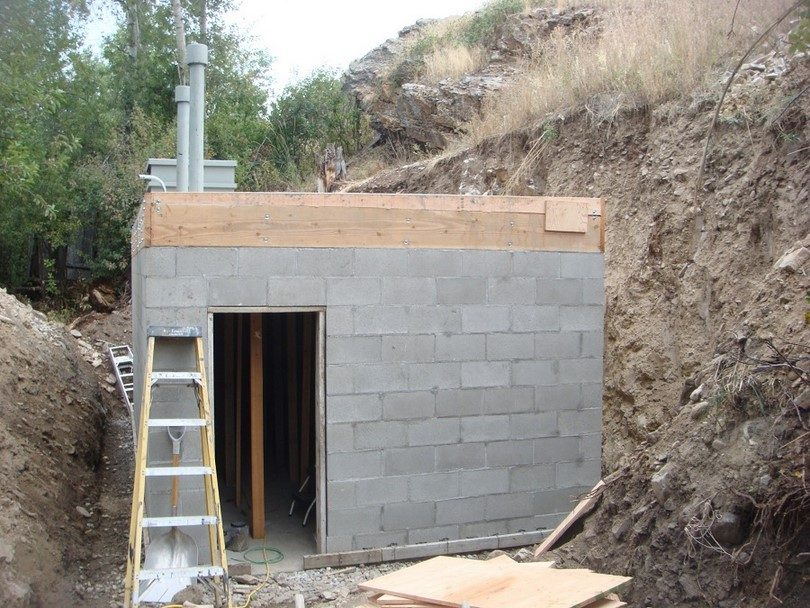 Bomb shelter build yourself