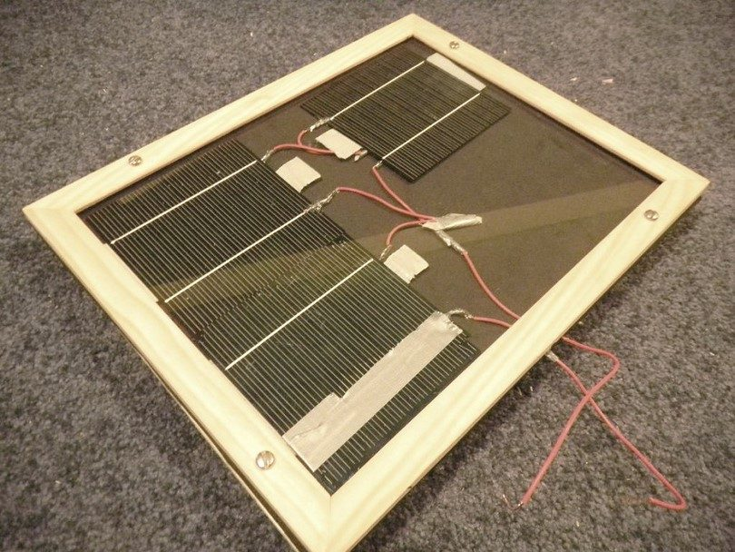 Building a solar panel
