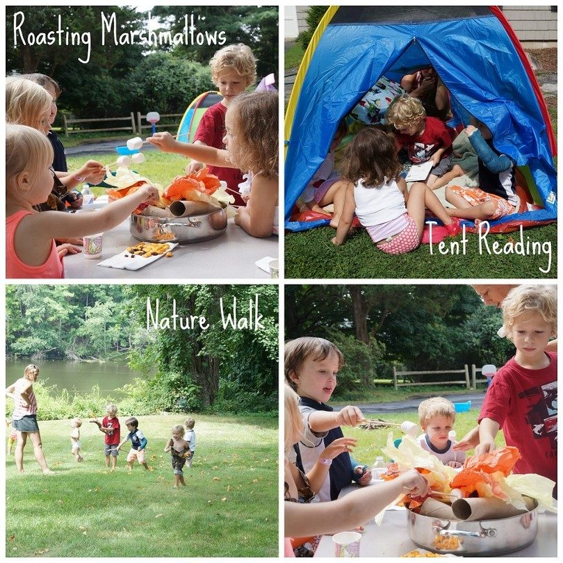Camping and kids