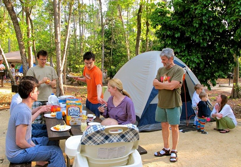 Fun Games To Do While Camping With Kids