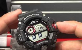 Casio G-shock Rangeman Triple Sensor Watch