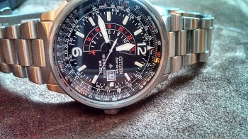 Citizen Nighthawk Eco-drive Watch Bj7000-52e