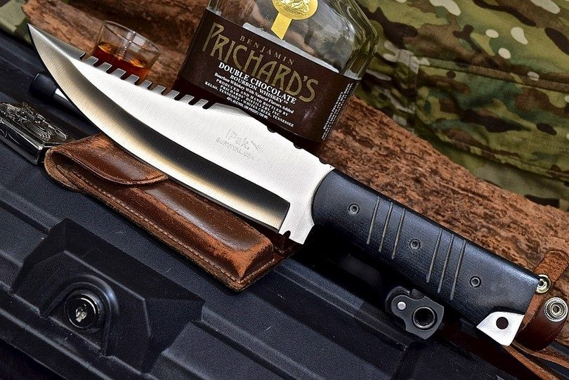 Combat fightinig knife