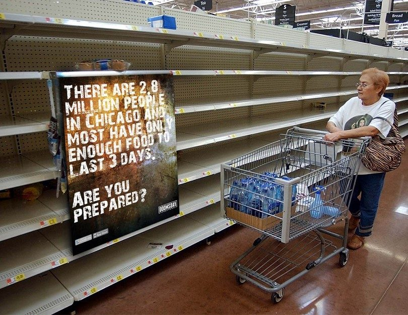 Doomsday_preppers food and water