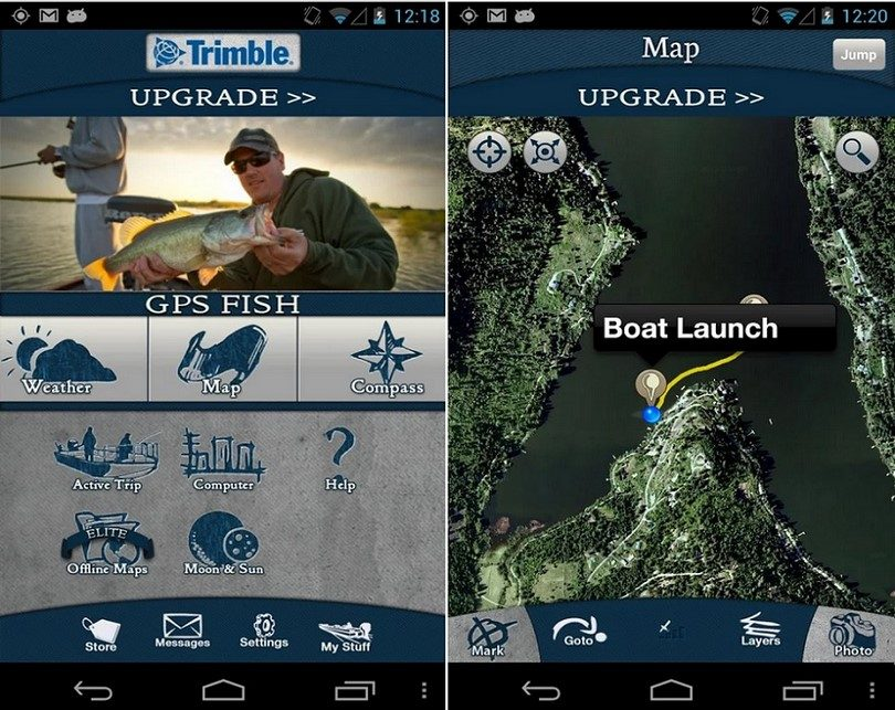 GPS fish