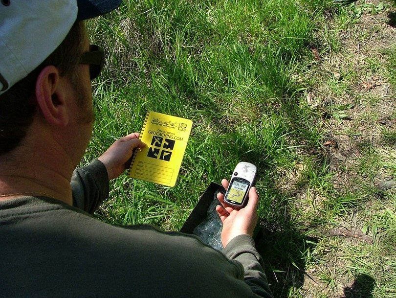 Geocaching logbook