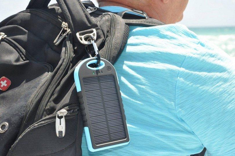 HAPPYCOCO solar panel portable backup power