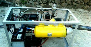 Homemade Electric Generator