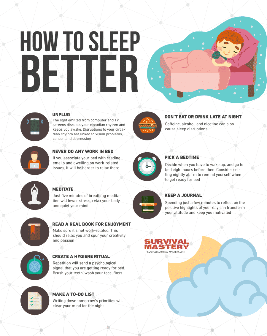 remedies to sleep well at night