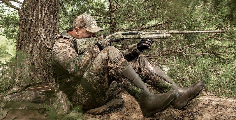 LaCrosse Men's Aerohead Mossy Oak Infinity hunting boots