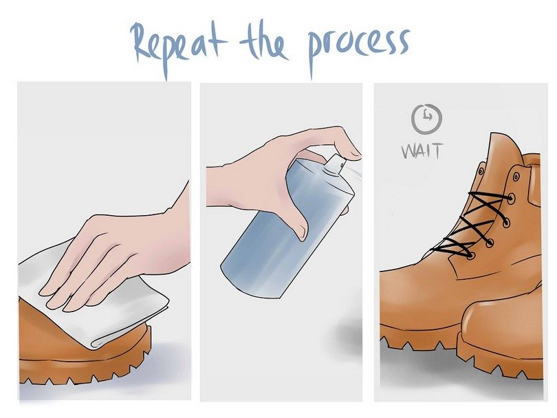 Make your boots waterproof