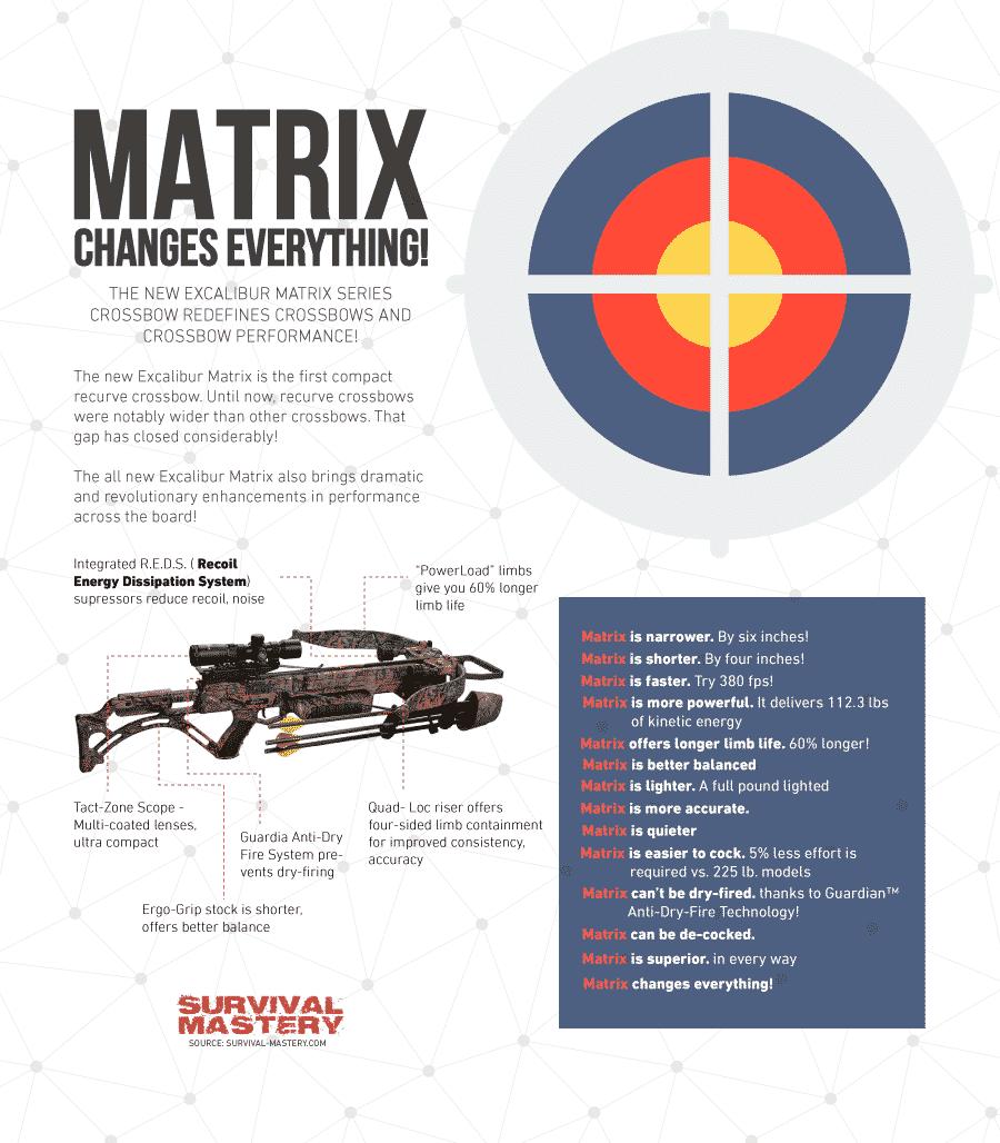 Matrix Hunting Bow infographic