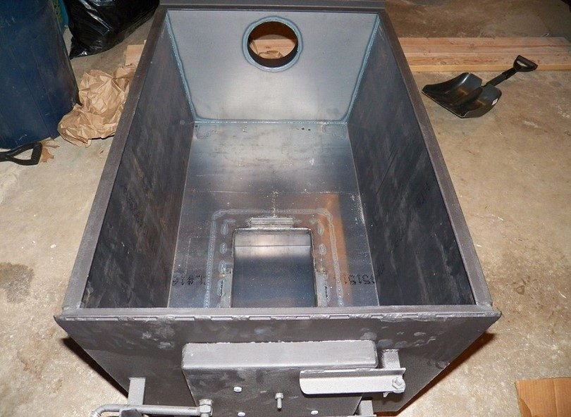 Welded metal for wood stove - How To Build A Wood Stove: The Money-Saving Guide To DIY Wood Stoves