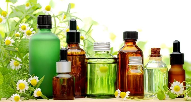 Oil and naturopathic drops
