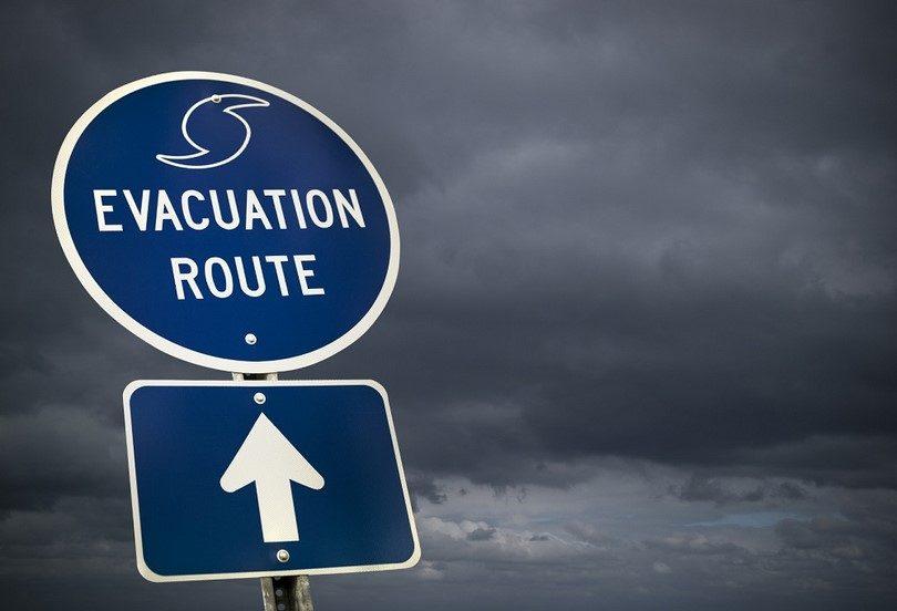Planning an evacuation