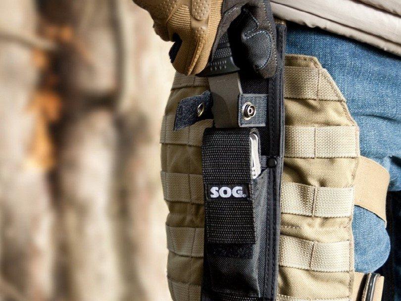 SOG E37SN-CP SEAL Pup Elite