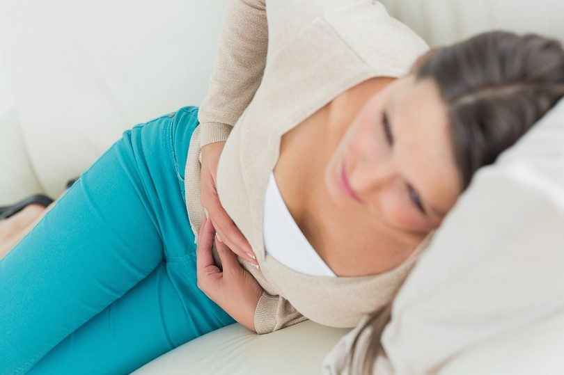 Stomach virus pain
