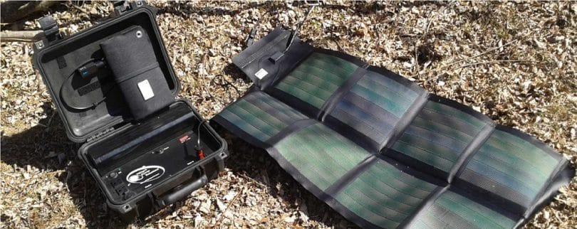 Sunlinq portable solar panel 12V 12W