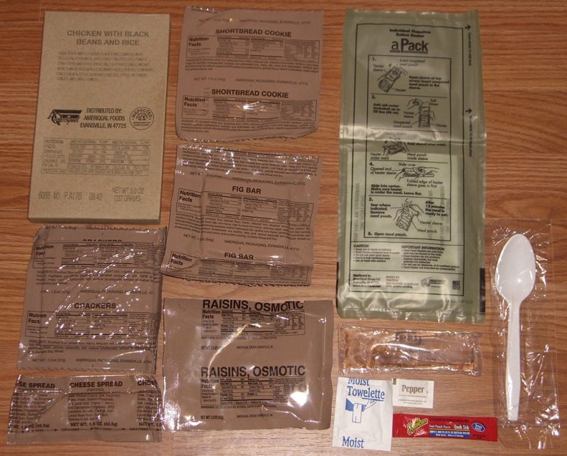 Sure-Pak MRE Complete Meal Kit with Heater-Single Meal