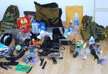 Survival bag contents