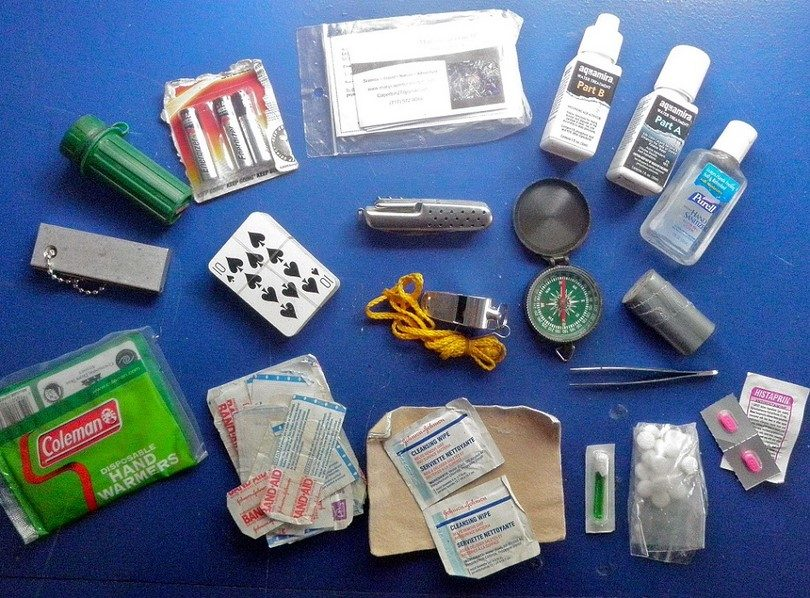 First Aid Kit Primitive Camping