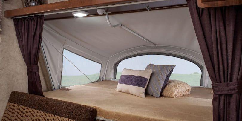 Tent sleeping capacity