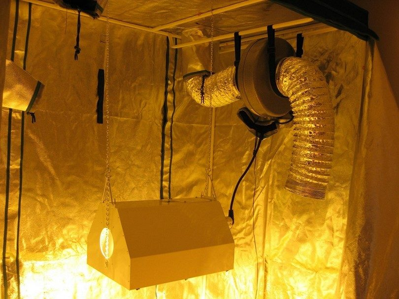 Ventilation in the tent