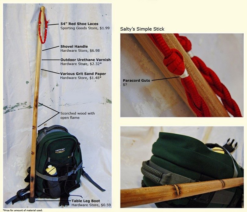 Walking Stick DIY
