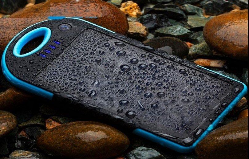 Waterproof portable battery