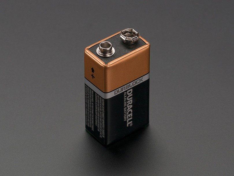 9-volt batterie